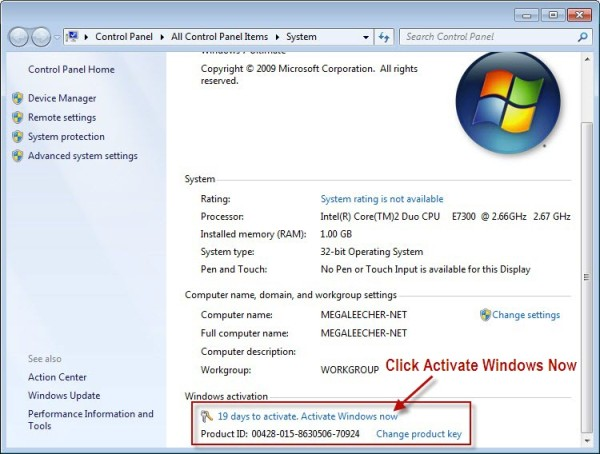 Windows 7 Professional Product Key Free for You